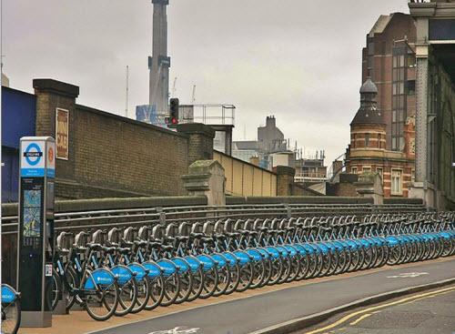 سیستم کرایه دوچرخه Barclays