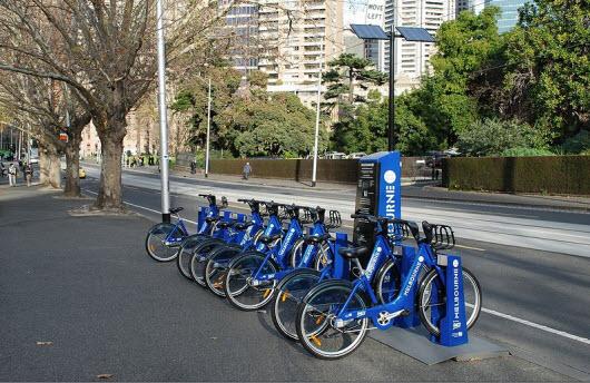 دوچرخه سواری در ملبورن , استرالیا