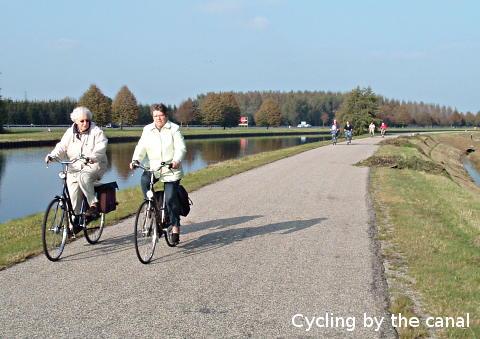 آمار دوچرخه سواری بین افراد مسن در هلند