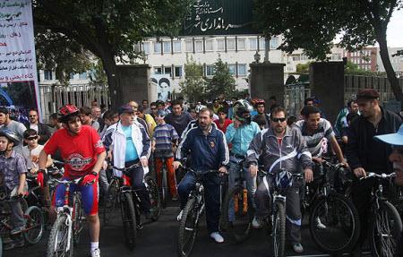 همایش بزرگ دوچرخه سواری همگانی در تبریز برگزار شد