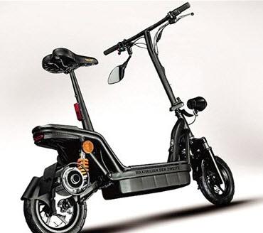 موتورسیکلت الکتریکی تاشو در آلمان ساخته شد