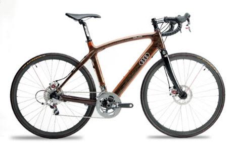 دوچرخه های چوبی وارد بازار شد + عکس