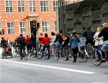 مسیر دوچرخه سواری کپنهاگ