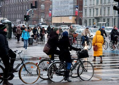 دوچرخه سواری در کپنهاگ