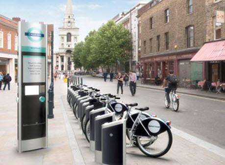 پروژه کرایه دوچرخه لندن
