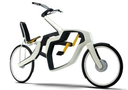 دوچرخه ای دو حالته براي تردد در مکانهای مختلف