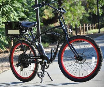 دوچرخه برقی با سوختي جالب