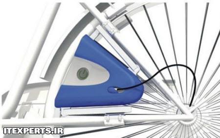 دوچرخه اي که برق توليد مي کند