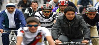 همايش دوچرخهسواري در شهر ري برگزار شد