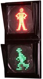 چراغ عابر پیاده LED کامل