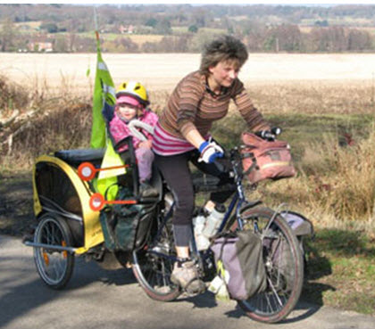 ماجراجویی با دوچرخه سواری