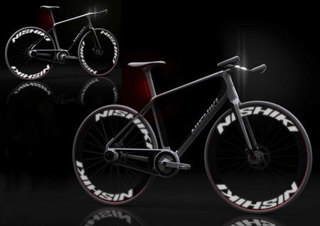 nishiki دوچرخه مفهومی درون شهری