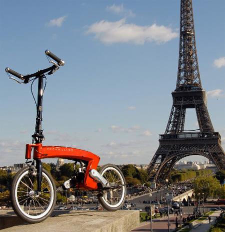 طراحی منحصر به فرد دوچرخه بدون صندلی