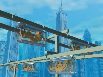 سیستم حمل و نقل رویایی : در هوا پدال بزنید +تصاویر