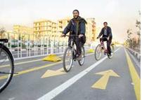 تعطيلي ايستگاه دوچرخه سواري گرگان يک روز پس از افتتاح