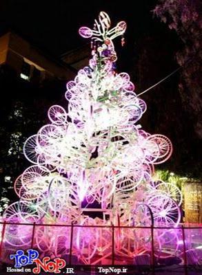 تصاویری از کریسمس با دوچرخه (1)
