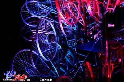 تصاویری از کریسمس با دوچرخه (4)
