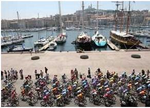 مارسي ، شهر دوچرخه سواري