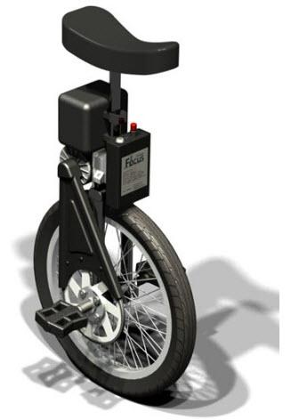 با SBU-unicycle از راه رفتن خسته نشوید