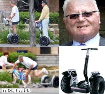مخترع موتور دوچرخ به وسیله اختراع خود کشته شد