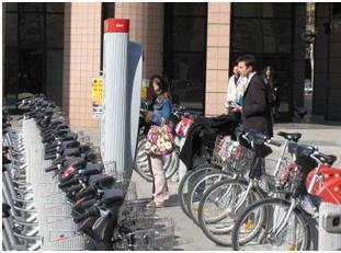 سیستم دوچرخه های اشتراکی Bikesharing در لیون فرانسه (1)