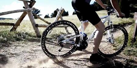 لاستیک دوچرخه بدون باد