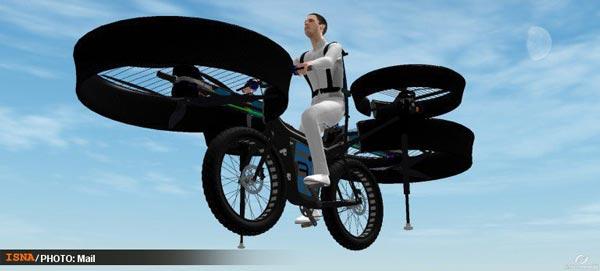 خبر جالب با این دوچرخه از ترافیک فرار کنید