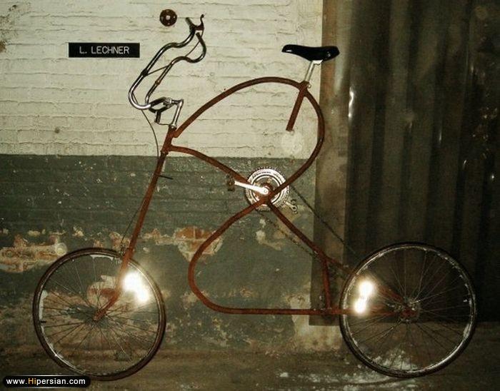 تصاویری از عجیب ترین دوچرخه های جهان 3