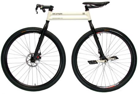 دوچرخه ساده شده