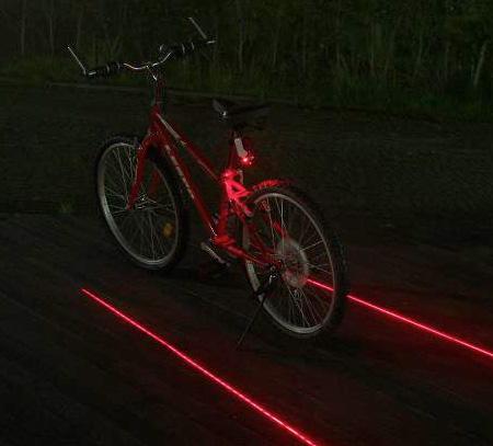 لیزر دوچرخه لین