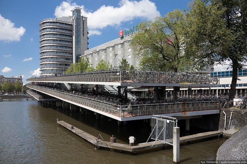 آمستردام شهر دوچرخه