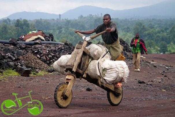چوکودو، دوچرخه بدون ترمز و پدال! (فیلم)