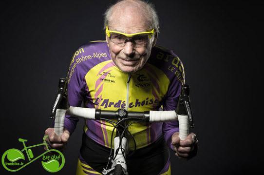 پیرترین دوچرخه سوار جهان در سن ۱۰۹ سالگی جان باخت.