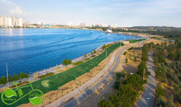 افتتاح پروژه تکمیل پیست دوچرخه سواری مجموعه شهدای خلیج فارس