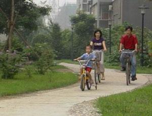 دوچرخهسواري خانوادگي در پکن