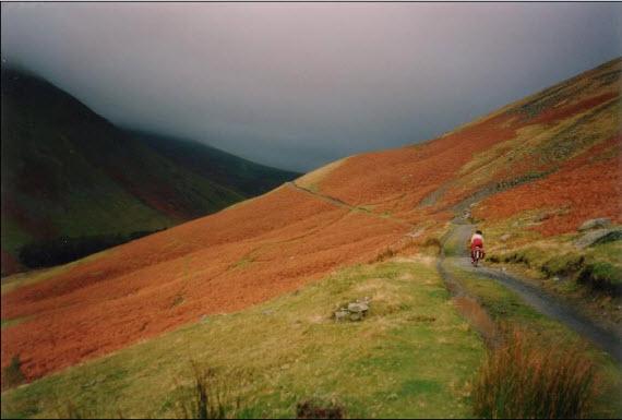 ایجاد مسیر دوچرخه در کوه – انگلیس
