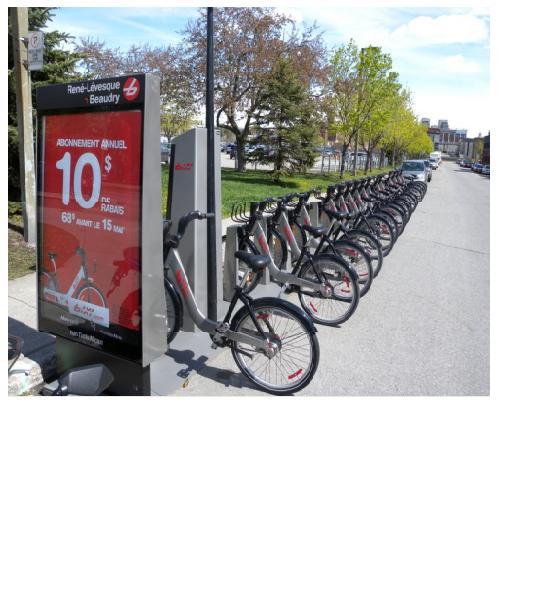 سیستم اشتراک دوچرخه  BIXI