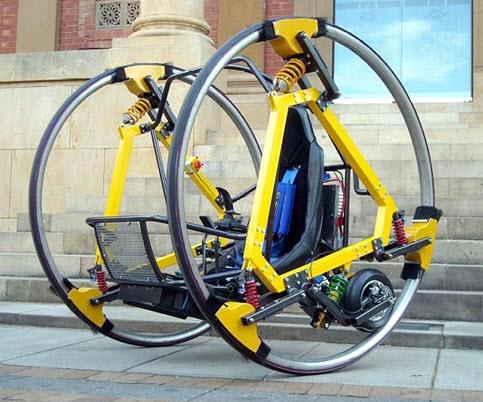 دوچرخه الکتریکی کابیندار