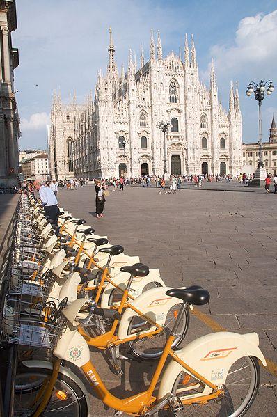 سیستم اشتراک دوچرخه در میلان