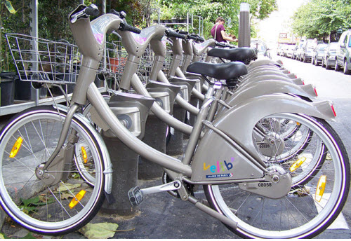 سیستم اشتراک دوچرخه  ولیب – فرانسه