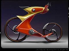 تصاویری از دوچرخه های بی ام و