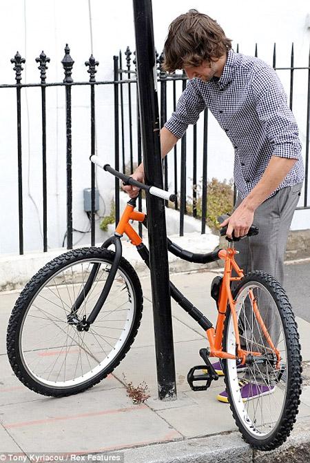 Bendable Bicycle دوچرخه ای با بنده جمع شدنی
