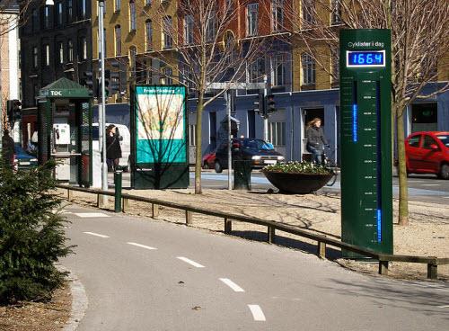 دستگاه شمارنده دوچرخه سواران + تصویر