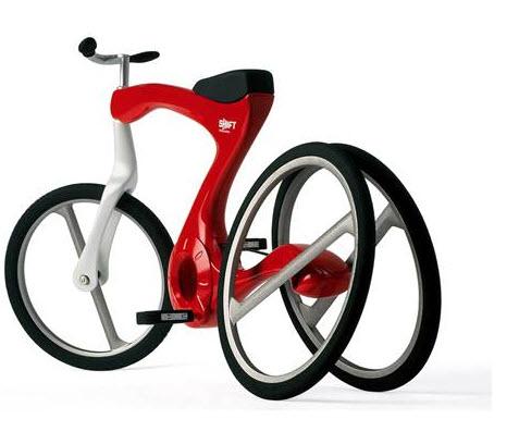 سه چرخه آموزشی برای دوچرخه سواری + تصویر