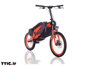 ساخت دوچرخه تاشو با قابلیت تبدیل به کوله پشتی