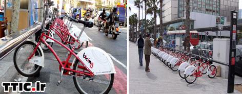 دوچرخه و ديگر شهرهاي دنيا