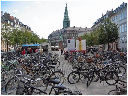 دوچرخه اصلیترین وسیله نقلیه مردم دانمارک