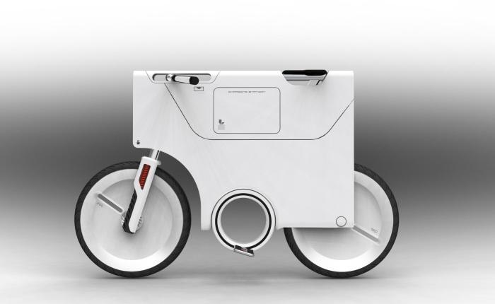 دوچرخهای استثنایی با ظاهری فضایی!؟