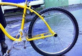 سیم و قرقره به جای چرخدنده و زنجیر در دوچرخه ها