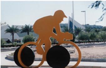 مسیر ویژه دوچرخه سواری در جزیره کیش